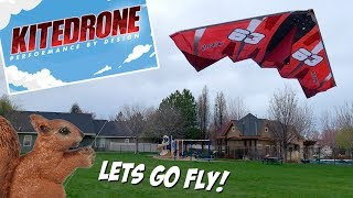 KiteDrone Fusionwing and Twinstar Performance By Design Lets go Fly!