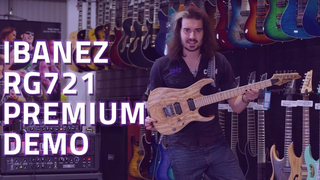 Ibanez Premium RG721 Electric Guitar Demo