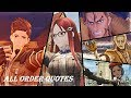 Valkyria Chronicles 4 - All Order Quotes (60FPS)