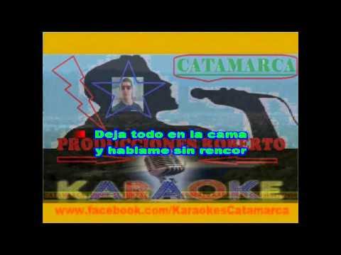 La Linea   Si me dejas no vale  (karaoke )  (PRODUCCIONES ROBERTO)