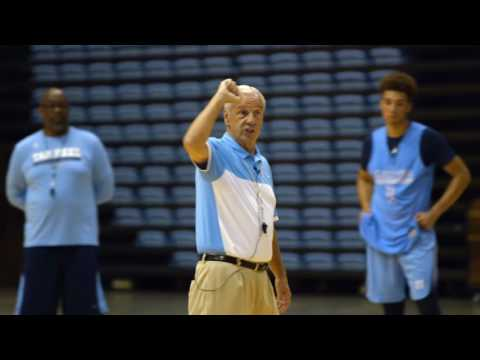 Carolina Basketball: Coach Williams Mic'd at First Practice - Part 3