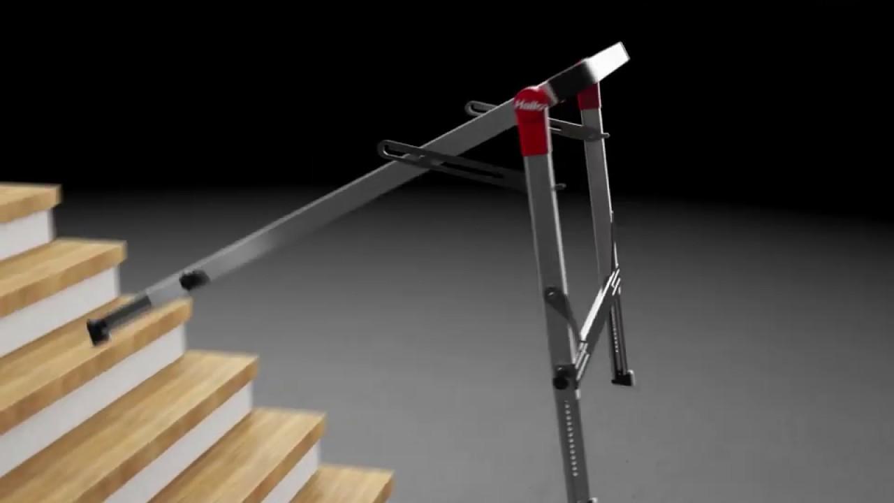 Plateforme Hailo Linnovation Pour Travailler Dans Les Escaliers