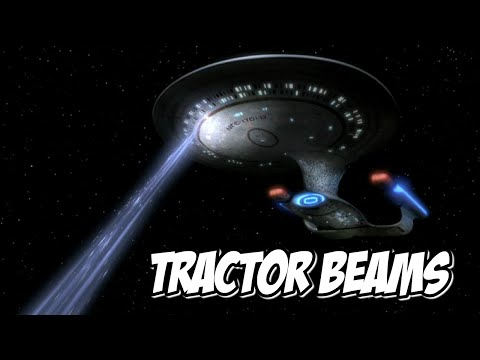 A Real Tractor Beam