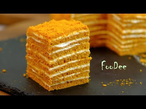 МЕДОВИК за 30 минут | Простой рецепт без раскатки коржей  | Honey Cake Recipe