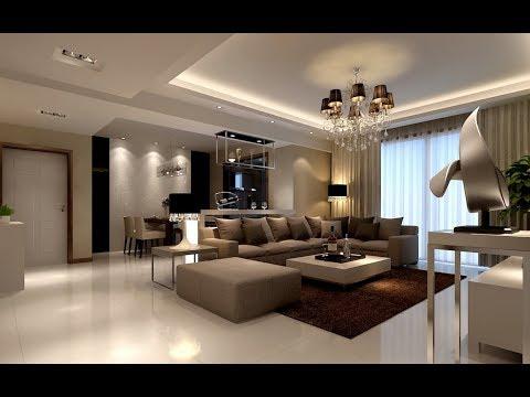 Diseño de sala de estar ideas 2018 - Nuevos muebles y decoración de sala de estar!