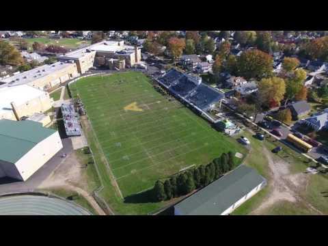 Fly to Audubon High School Football Field New Jersey