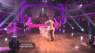 JR Martinez and Karina Smirnoff Dancing with the Stars 2011 Waltz Perfect score 30
