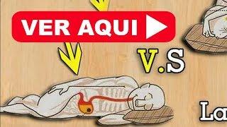 ✔ LA MEJOR POSICION PARA DORMIR - Esto sucede cuando DUERMES DEL LADO IZQUIERDO de tu cuerpo !!!