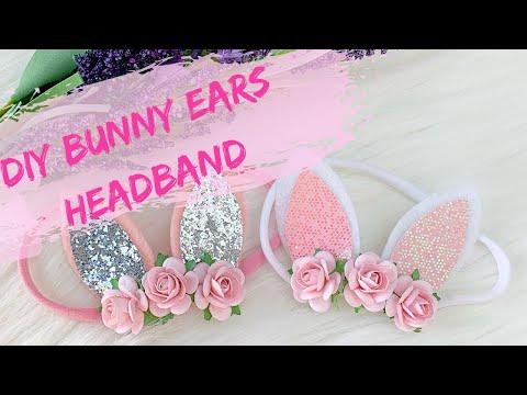 DIY Bunny Ears Headband // How To Make A Bunny Ears Headband For Baby // Miss O Crafts