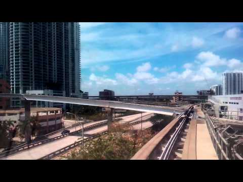 MIAMI 2015 Metromover Brickell Loop