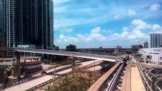 MIAMI 2015 Metromover Brickell Loop