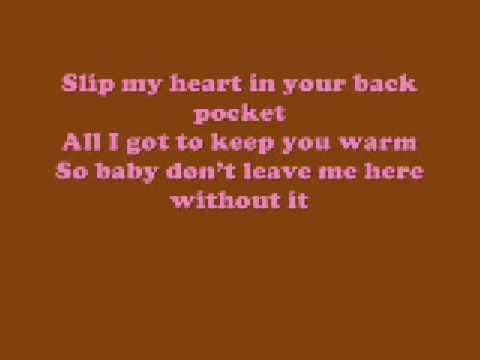 In My Pocket - Mandy Moore - With Lyrics