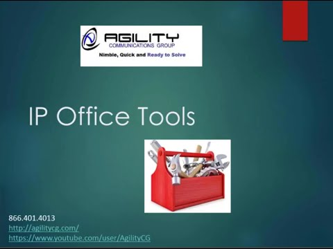 Take a Dive into Tools used to Support Avaya IP Office with AgilityCG GURU Training