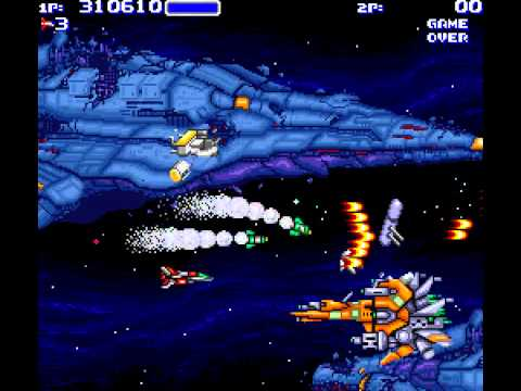Arcade Longplay [445] Air Buster: Trouble Speciality Raid Unit
