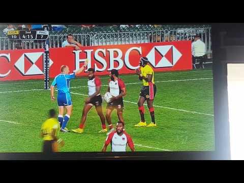 Papua New guinea sevens Pukpuks vs Uganda Hong Kong 7s 2017