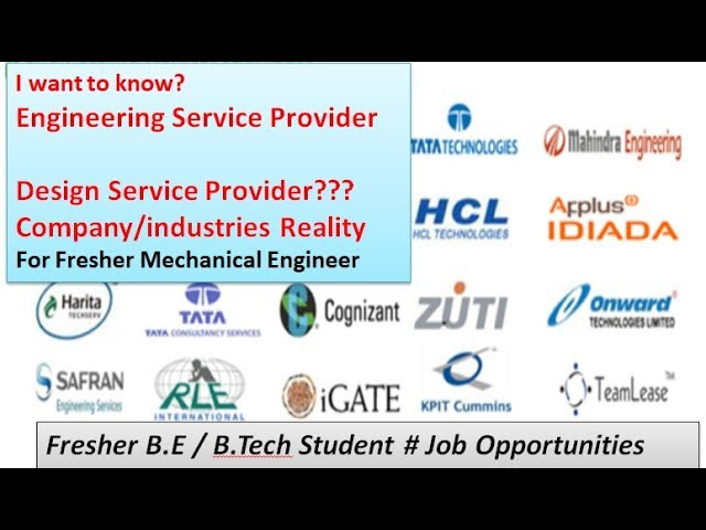 Mechanical Engineering Design Service Provider Company Info For Fresher Mechanical Design Engineer Youtube