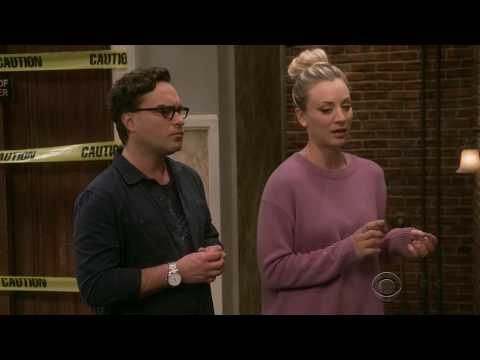The Big Bang Theory - Leonard and Penny meet their neighbours