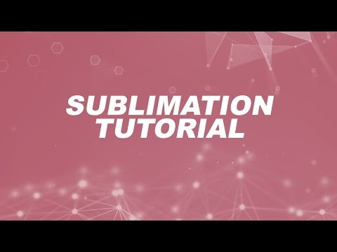 Tutorial - Sublimation Printing and Supply Overview - HeatPressNation.com