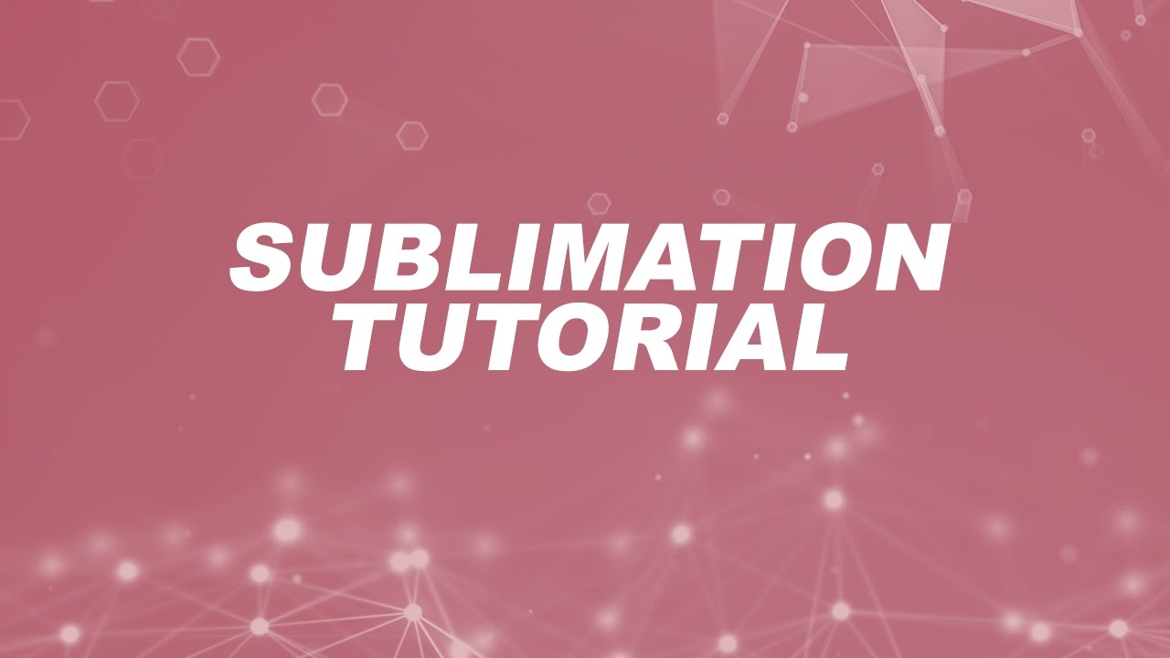 What is Sublimation Printing? | Printing Terminology 101