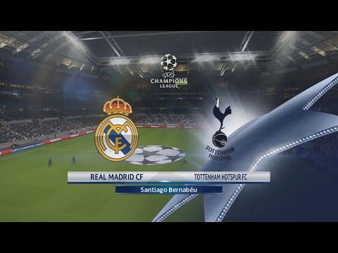 Real Madrid x Tottenham -  UEFA Champions League 17/10/2017 -  PES 18