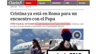 678 adelanto: Mira lo que dicen los diarios del hotel de Macri en Roma - 26-02-16 - 678