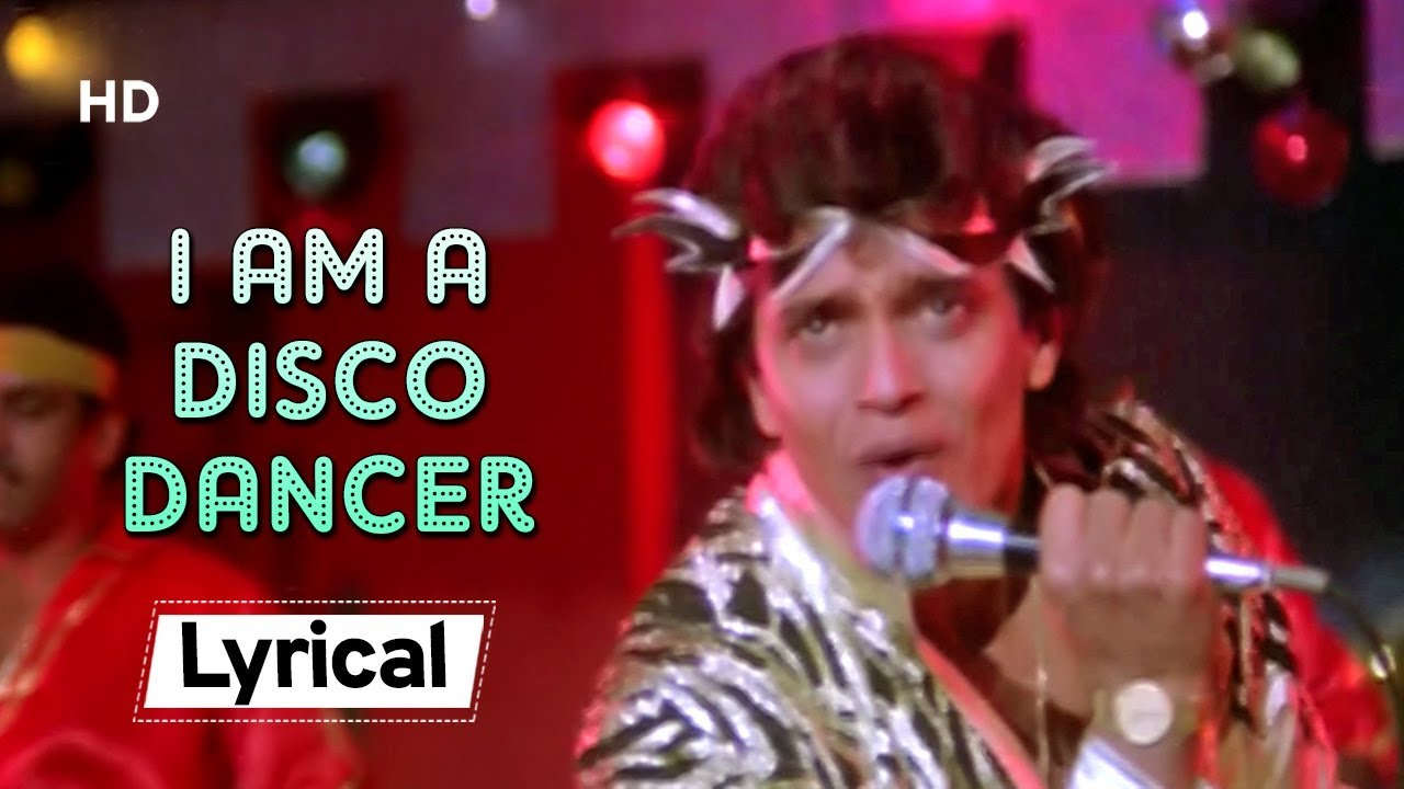 I am a Disco Dancer 🎤🕺With Lyrics | Disco Dancer (1982) | Mithun  Chakraborty - YouTube