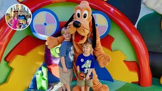 Meeting Pluto and Disney Junior Show at Hollywood Studios - Walt Disney World Vlog