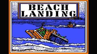 Beach Landing longplay with cheats (Apple II - Weekly Reader Family software)