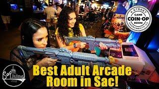 Coin Op: Best Adult Arcade Room And Food | Sacramento Restaurants