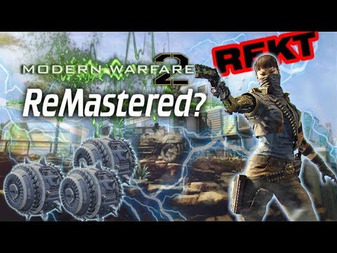 MW2 Remastered in 2017? Will MW2 Remastered Be A COD WW2 Pre Order Bonus? Jitter MOD Brecci Nerfed!?