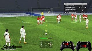 PES 2015 Free Kick Tutorial | Xbox & Playstation | HD 1080p
