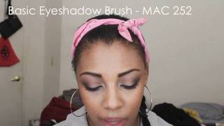 Makeup Brushes 101 - College Fashion Thumbnail
