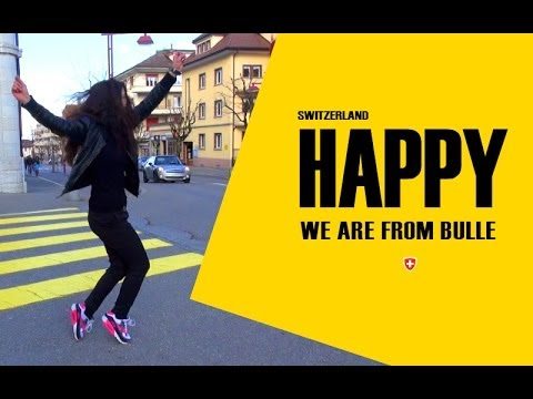 We are Happy from Bulle Suisse - Pharrell's Williams