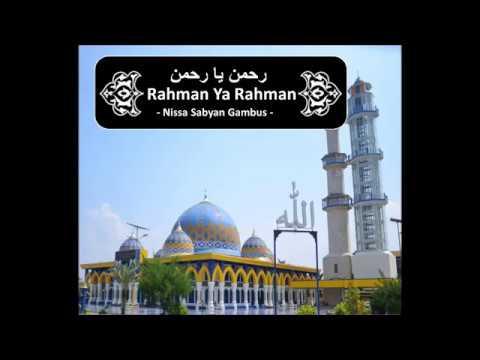 Rahman, Ya Rahman Nissa Sabyan Gambus رحمن يا رحمن