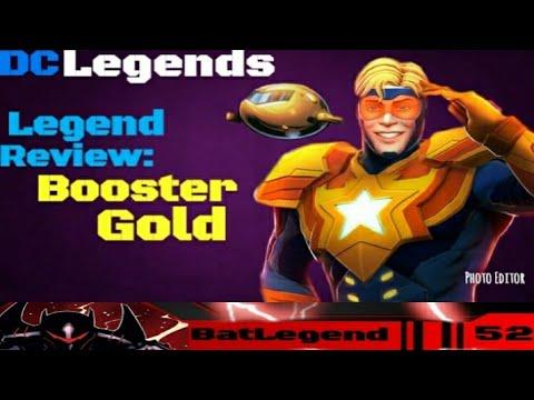 DC Legends: Legend Review Booster Gold