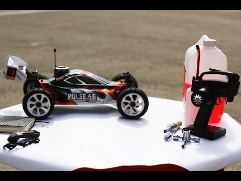 Обкатка и настройка нитро ДВС на радиоуправляемой модели
