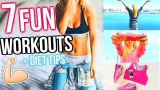 GET BIKINI BODY READY! 7 Fun Ways To Get Healthy and Lose Weight! Fun Workout Routines & Activities!