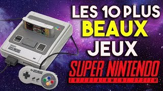 Les 10 plus BEAUX jeux de la SNES ! (Super Nintendo)
