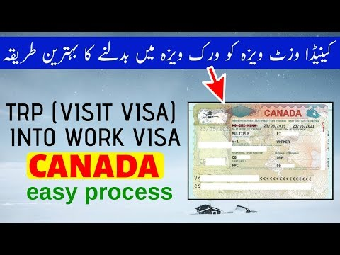 How To Convert Canada's Visitor Visa Into