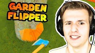 SRUŠIO SAM DRVO! UPS (House Flipper #8) Garden Flipper DLC