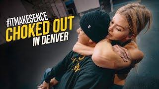 Brooke Ence - I Got CHOKED OUT in Denver