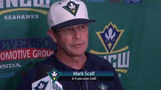 Mark Scalf Postgame - College of Charleston (May 17, 2018)