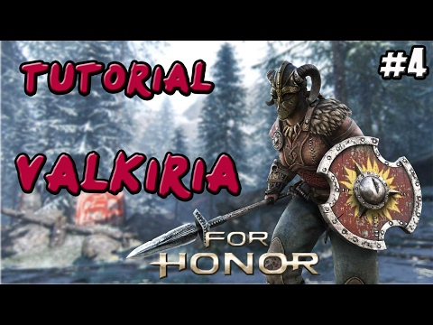 FOR HONOR | GUIA TUTORIAL VIKINGA VALKIRIA  (VALKYRIE) | COMBOS Y TRUCOS | GAMEPLAY ESPAÑOL