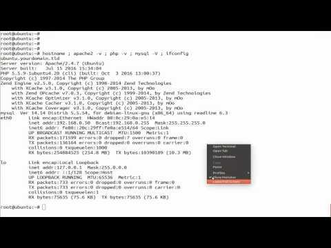 How To Install Xibo CMS with apache web server On Ubuntu Linux - YouTube