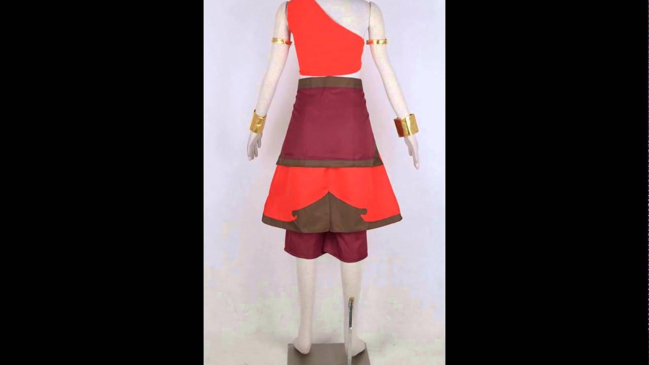 Katara Costume from Avatar The Last Airbender Cosplay & Katara Costume from Avatar: The Last Airbender Cosplay - YouTube