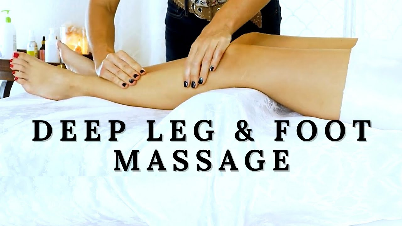 Leg & Foot Massage for Stress Relief, Relaxation with Tessa