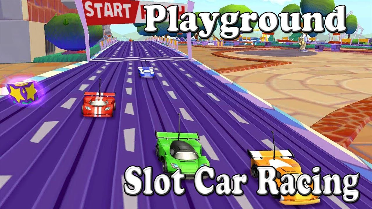 Let's Play EA Playground - Slot Car Racing - (Wii) Mother, Daughter Co-op
