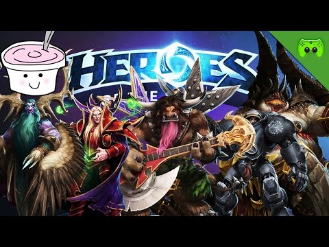 HEROES OF THE STORM # 29 - MilderJoghurt is back! «» Let's Play HotS   Full HD
