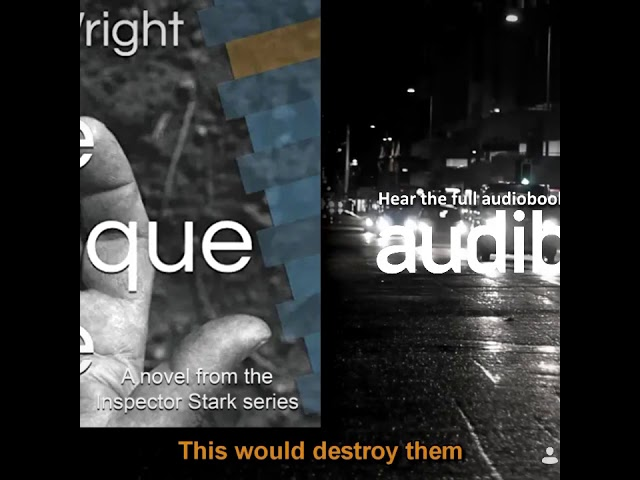 FREE AUDIOBOOK - 'Audible' launch crime thriller 'One Oblique One' by Keith Wright