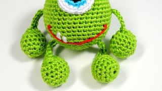Crochet A Fun Monster Mike Toy - Diy Crafts - Guidecentral